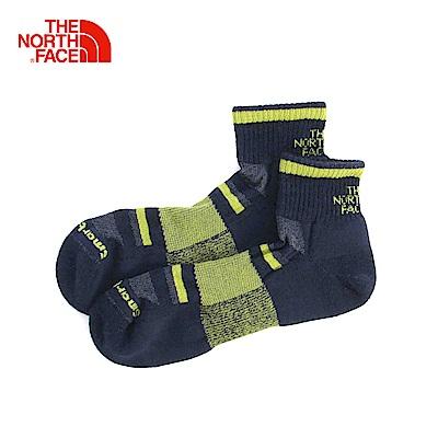 The North Face北面綠色保暖舒適通用中筒襪