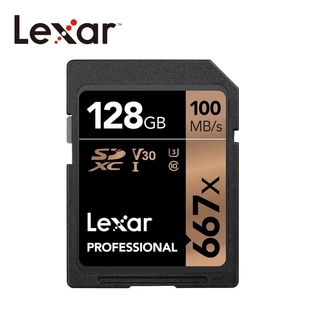 Lexar 667x SDXC UHS-I 記憶卡 128G 公司貨