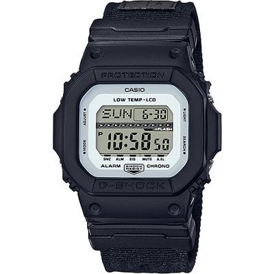 G-SHOCK 極限運動輕巧耐用數位錶-黑(GLS-5600CL-1D)/43mm