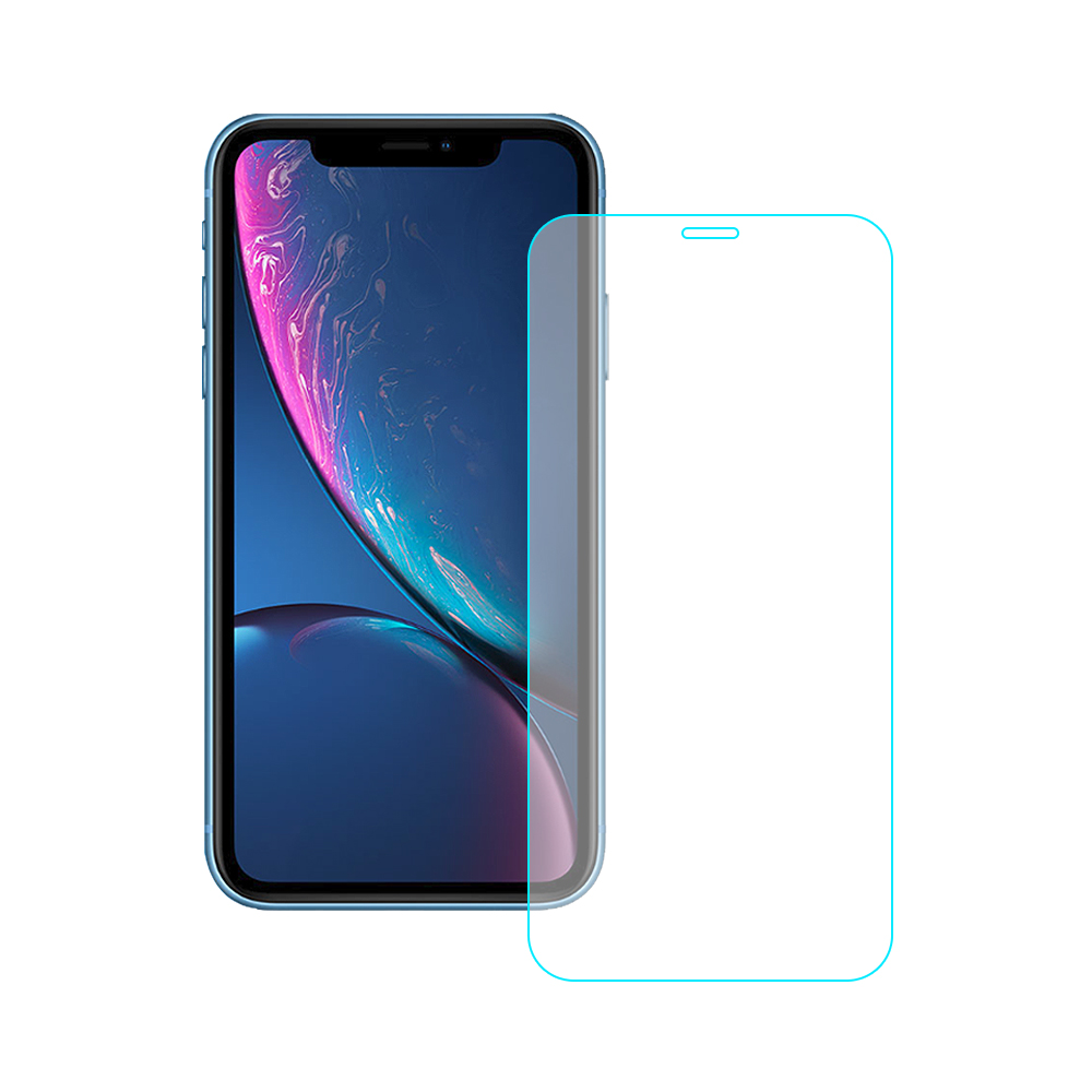 【SHOWHAN】iPhone 11/XR 9H鋼化玻璃0.3mm疏水疏油抗指紋保護貼