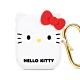 GARMMA Hello Kitty AirPods 1&2代藍牙耳機盒保護套 經典白 product thumbnail 1