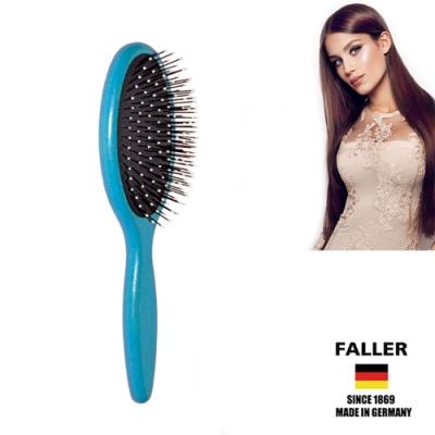 FALLER芙樂德國製FSC櫸木圓珠纖維頭皮護髮梳(一入)