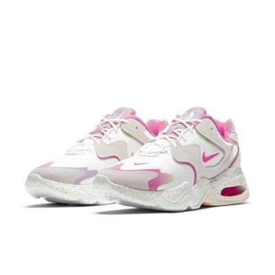 NIKE 慢跑鞋 氣墊 避震 運動鞋 女鞋 白粉 DD8484-161 AIR MAX 2X