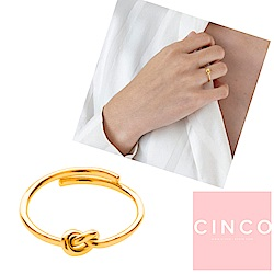 葡萄牙精品 CINCO Noeud ring 24K金戒指 如意結戒指