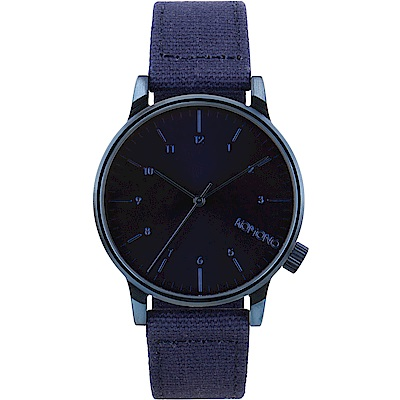 KOMONO Winston Heritage 腕錶-藍調/41mm
