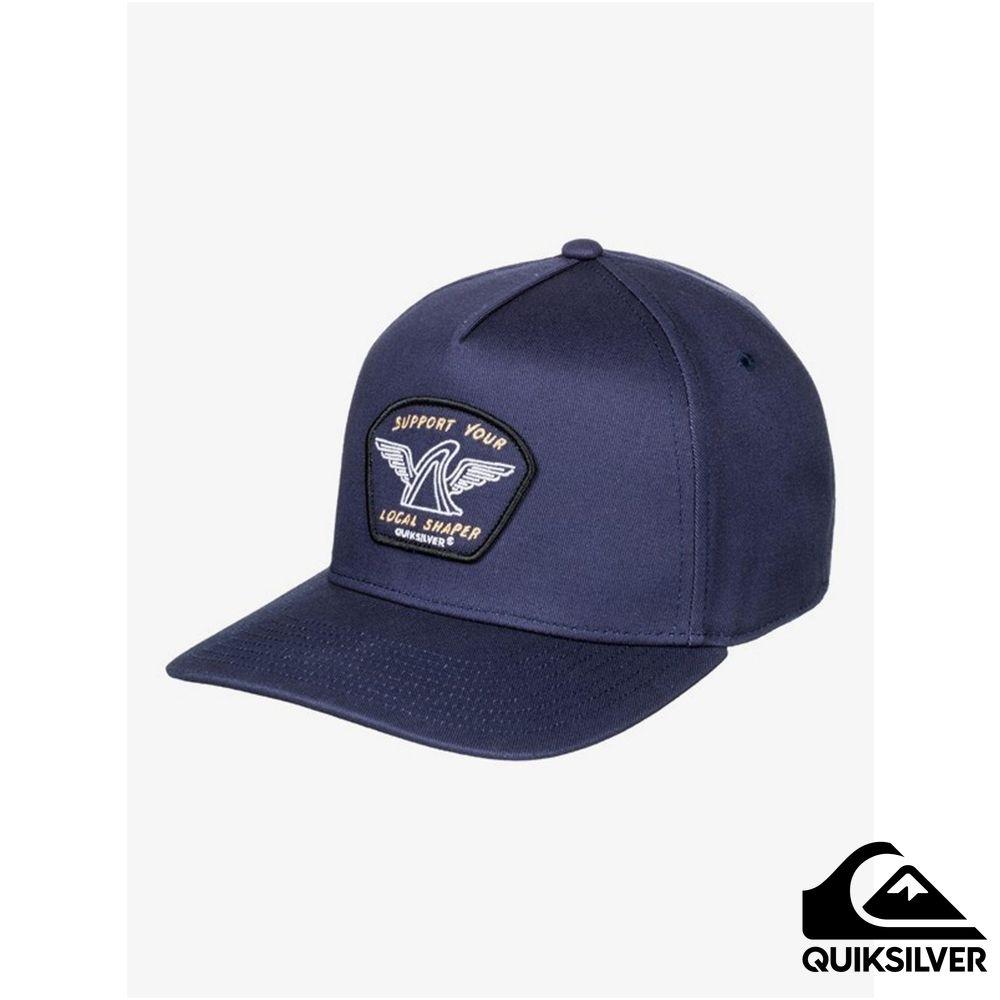 【QUIKSILVER】PATCHABLES 棒球帽 海軍藍