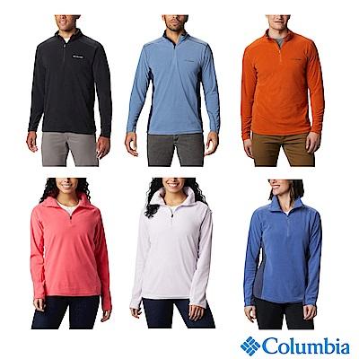 Columbia 哥倫比亞 男女款 - Omni Shade 防曬50半開襟刷毛上衣-6色 活動款