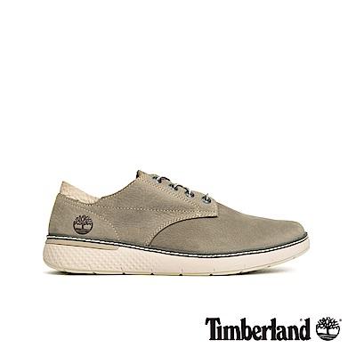 Timberland 男款中灰色磨砂革牛津鞋|A22KY