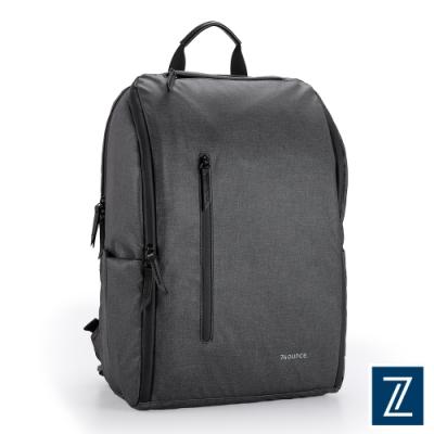 74盎司 Witty 休閒商務造型後背包(15吋)[G-1073-WI-M]黑