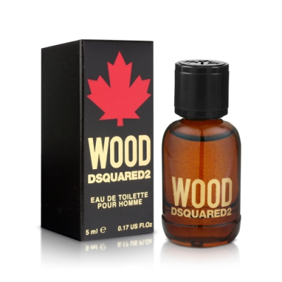 DSQUARED2 WOOD 天性男性淡香水小香5ml