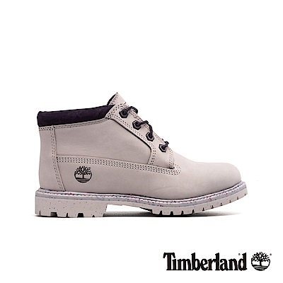 Timberland 女款淺紫色磨砂革 經典低筒靴 A1WCS
