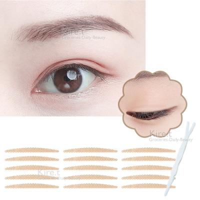 無痕 網狀蕾絲 雙眼皮貼 眼線貼-2MM極細隱形 超值108枚入 kiret