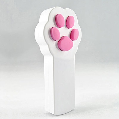 寵物貴族療癒系萌萌貓肉球雷射逗貓棒寵物玩具喵星人最愛