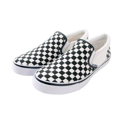 女鞋 台灣製時尚潮流菱格紋帆布鞋sd7239 魔法Baby
