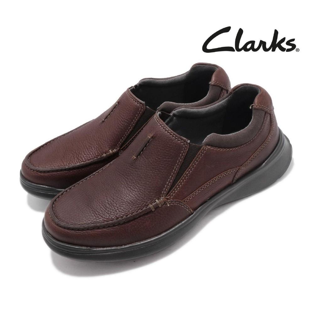 Clarks 休閒鞋 Cotrell Free 套腳 男鞋
