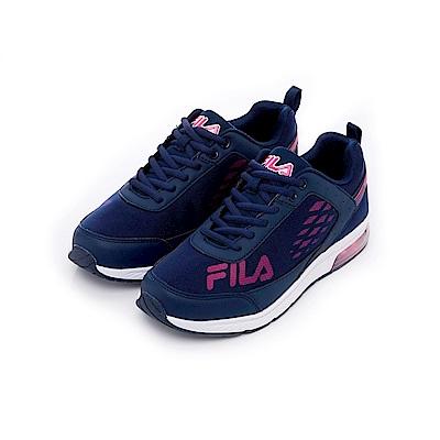 FILA 女半氣墊慢跑鞋-丈青 5-J703T-321