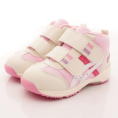 亞瑟士SUKU2機能鞋 護踝穩定款 ON66-19S白粉(寶寶段)