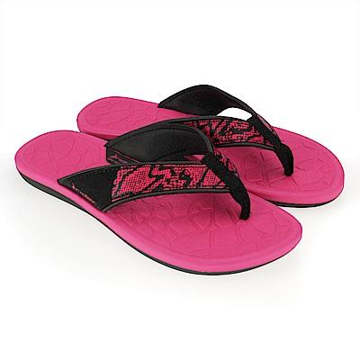 巴西品牌 女 CLOUD IV 流行夾腳鞋(粉紅)