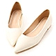 D+AF 典雅氛圍.韓風素面低跟尖頭鞋*白 product thumbnail 1