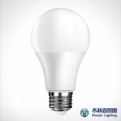 木林森 LED廣角形燈泡12W-白光
