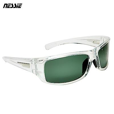 【Nessie尼斯眼鏡】偏光太陽眼鏡-休閒款(白水晶)贈眼鏡盒 偏光鏡 抗UV抗紫外線