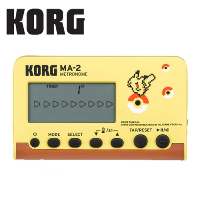 KORG MA-2 PK 寶可夢聯名款節拍器 皮卡丘