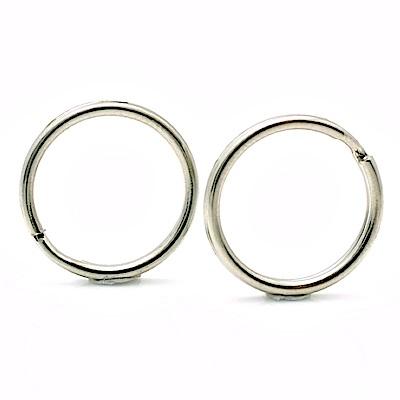 不鏽鋼背帶環揹帶環組(2入;圓形)-相機/望遠器材用
