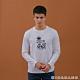 GIORDANO   男裝8Bit像素印花T恤 - 01 標誌白 product thumbnail 1