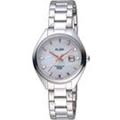 ALBA 漫步都會時尚腕錶(AH7R15X1)白/31mm
