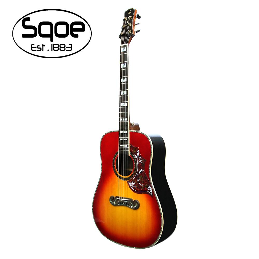 SQOE A780 CS 面單板民謠木吉他