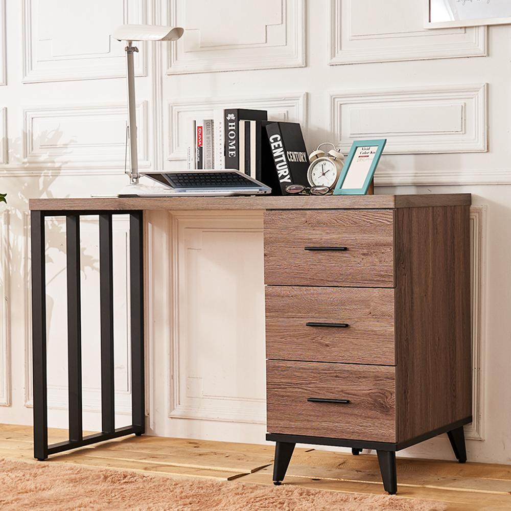 時尚屋 克里斯木心板4尺書桌 寬121x深56x高80.7cm