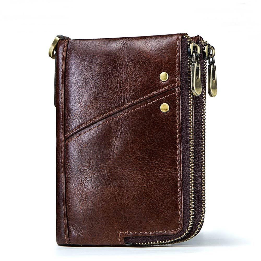玩皮工坊-真皮頭層牛皮12卡位男士皮夾皮包錢夾錢包短夾男夾LH113