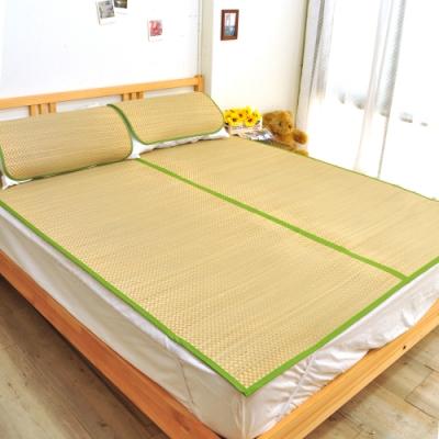 亞曼達Amanda 涼夏香石草蓆/藺草蓆/涼蓆 -雙人5尺(含枕蓆) -快速到貨