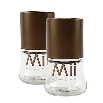 愛的世界 Mii Organics 4oz寬口玻璃奶瓶兩支裝-美國製-