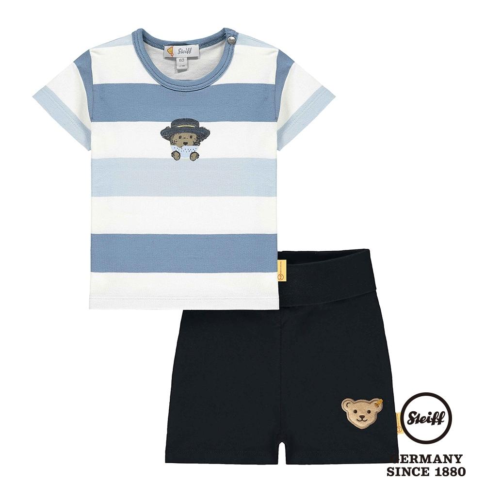 STEIFF德國精品童裝    二件式短袖T恤上衣+褲子(套裝)