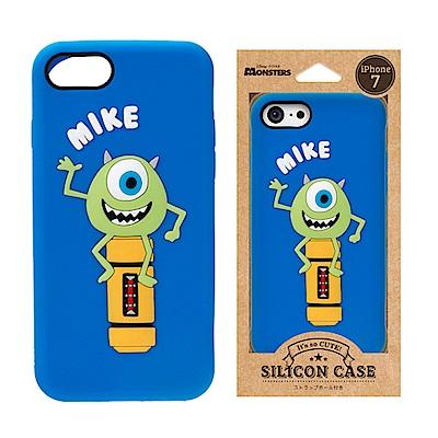 iPhone 8/7 迪士尼 正版授權 可愛/矽膠 手機軟殼 4.7吋-大眼仔