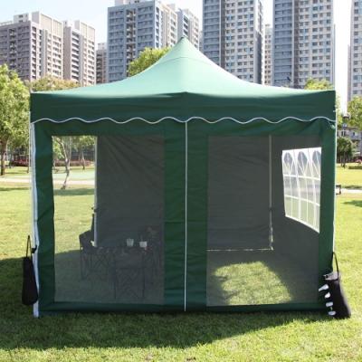 頂級SOLAR炊事帳篷配件-防蚊蟲網門.拆裝簡易通風透氣展場園遊會活動客廳帳棚邊布