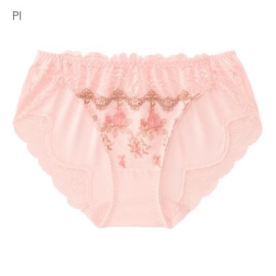 aimerfeel 可愛甜心交叉蕾絲內褲-粉紅色-604421-PI