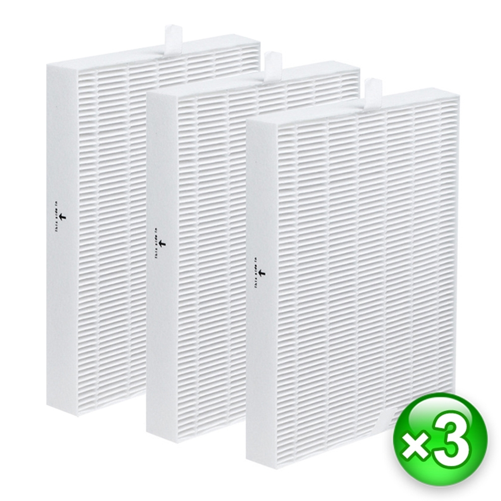 Honeywell空氣清淨機 HEPA濾網 副廠(3入) 適用:HPA-100/200/300