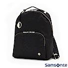 Samsonite新秀麗 Skyler 2.0素雅印花女性後背包(黑)