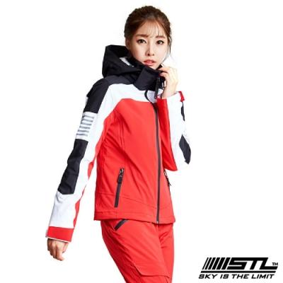 STL Snow 韓國戶外機能滑雪板/雪衣外套 男女款 紅白