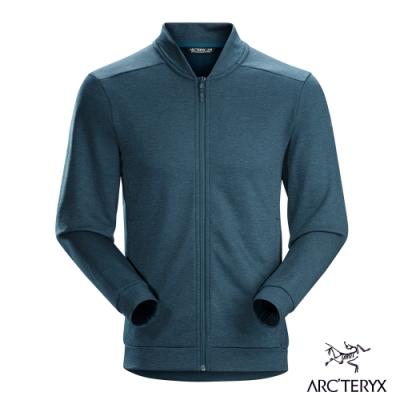 Arcteryx 始祖鳥 男 24系列 Dallen 保暖 刷毛外套 夜鷹藍