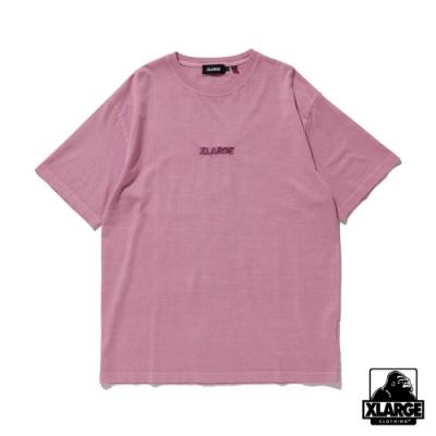 XLARGE S/S PIGMENT TEE STANDARD LOGO短袖T恤-紫