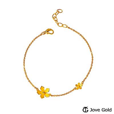 Jove Gold 漾金飾 優雅黃金手鍊