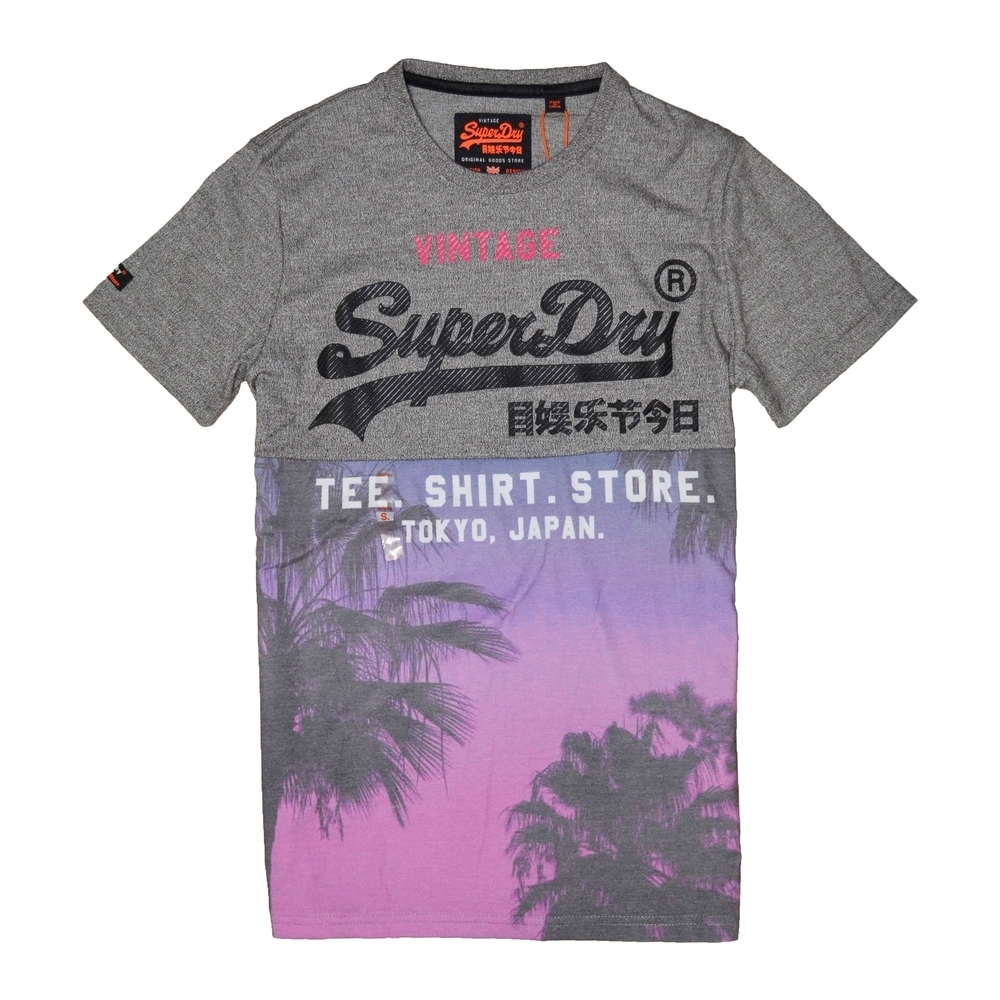 SUPERDRY 極度乾燥 男 T恤 灰色 1365