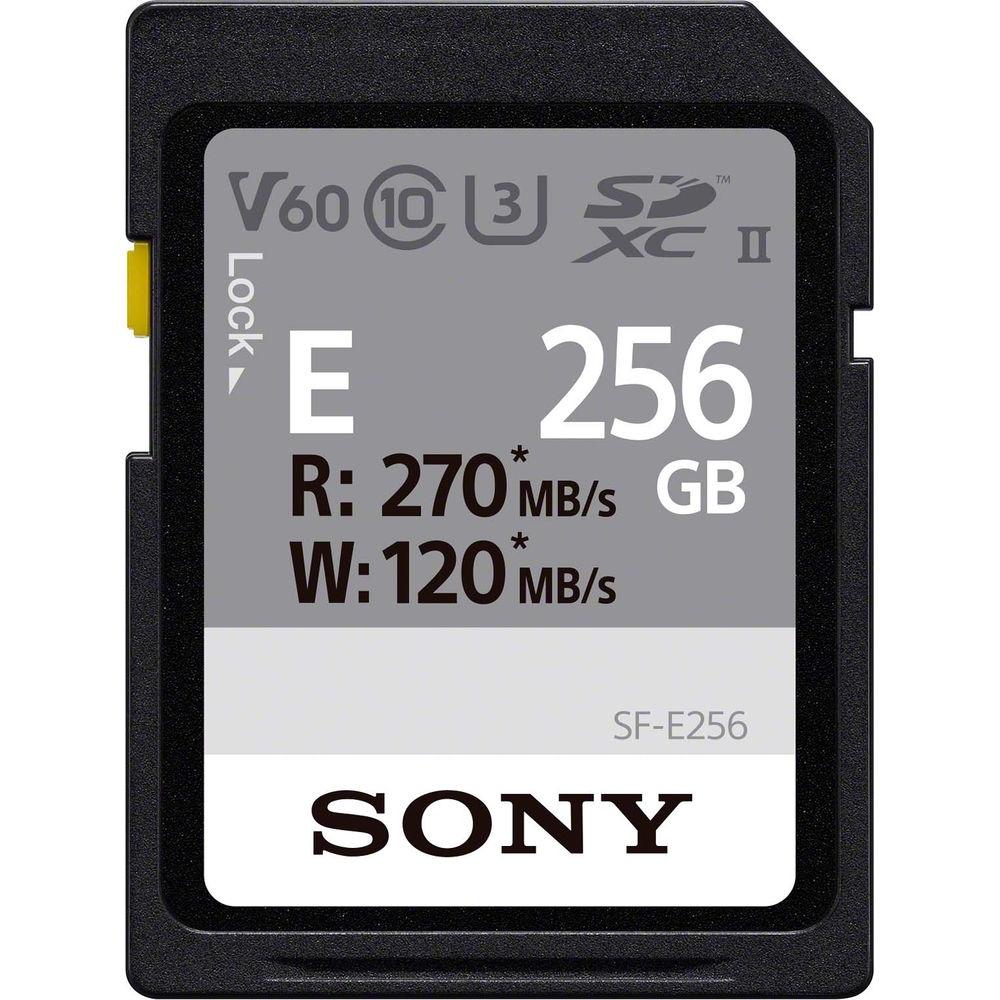 SONY SF-E256/T1 UHS-II V60 U3 256G 記憶卡 (公司貨)