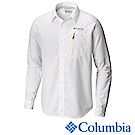 Columbia哥倫比亞 男款-鈦 防曬30快排長袖襯衫-灰色UAE06320