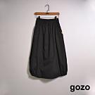 gozo-微抽繩休閒工裝裙(二色)