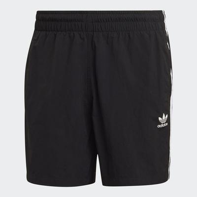 adidas ADICOLOR 黑 運動休閒短褲 男款 GN3523