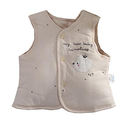 可愛熊鋪棉背心外套 k60796 魔法Baby